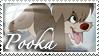 Anastasia - Pooka the Puppy Stamp by WildSpiritWolf