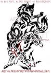 Wolf Link, Amaterasu, + Pikachu Design