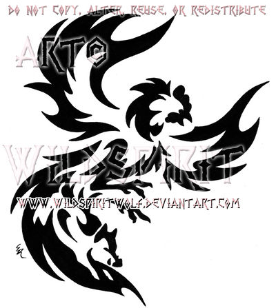 c340d6ce4718a Rooster And Boar Tribal Design by WildSpiritWolf on DeviantArt