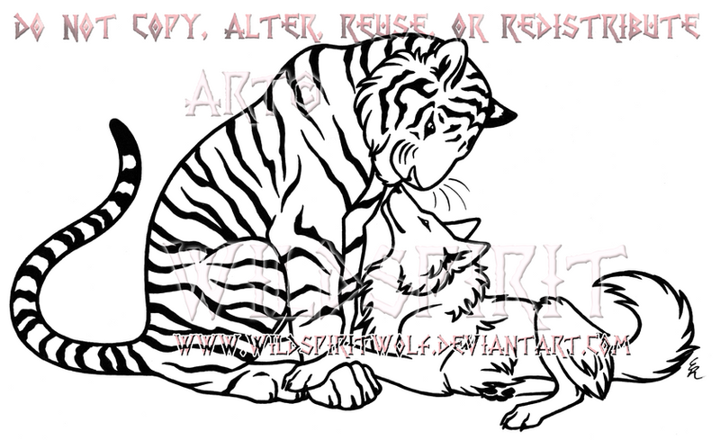 Lineart Wolf Tattoo : Tattoo favourites by morphyvampy on deviantart