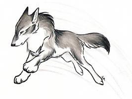 New Wolf Leap by WildSpiritWolf