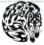 Wolven Spirit Warrior Tribal Design