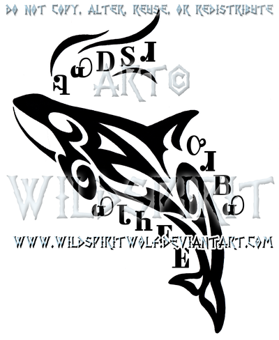 cherokee orca tribal design by wildspiritwolf on deviantart. Black Bedroom Furniture Sets. Home Design Ideas