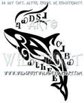 Cherokee Orca Tribal Design