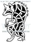 Stylized Lycan Knotwork Design