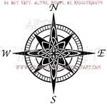 Celtic Compass Rose Design