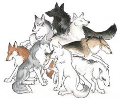 Wolves I Love by WildSpiritWolf