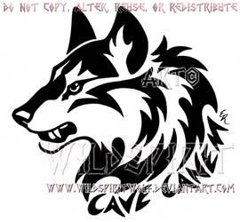 aa64449fb WildSpiritWolf 489 10 Cave Canem Fierce Wolf Head Design by WildSpiritWolf