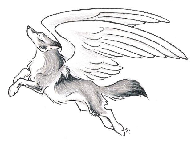 Oren Gets His Wings by WildSpiritWolf