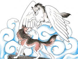 Oren's Flight Color by WildSpiritWolf