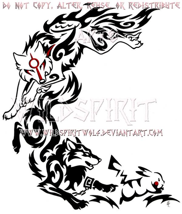 Cat Black And White Tattoo Design