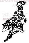 Tribal Cerberus Design