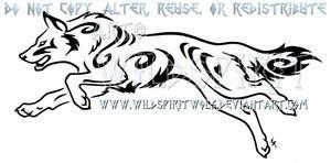 Tribal Swirl German Shepherd Design