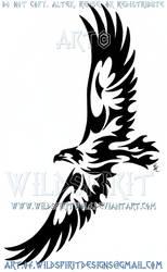 Soaring Eagle Tribal Design