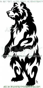 Standing Bear Tribal Design