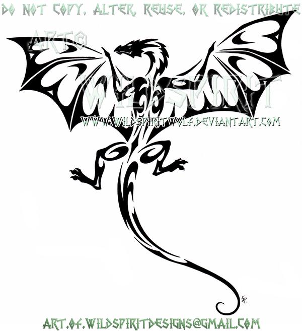 climbing dragon tribal design by wildspiritwolf on deviantart
