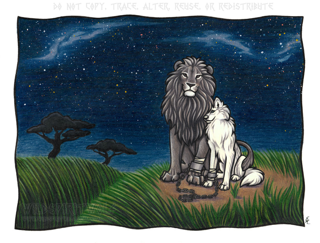Savannah Romance - Color Commission by WildSpiritWolf