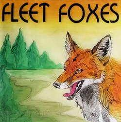 Art Assignment Album Cover - Fleet Foxes