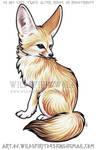 Fennec Fox Color Design Commission