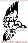 Tribal Dove - Prince Memorial Design