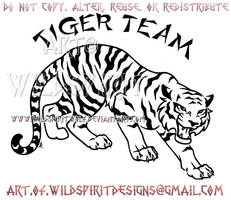 Fierce Tiger Team Design by WildSpiritWolf