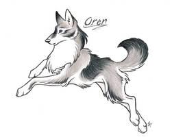 Leaping Oren by WildSpiritWolf