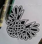 Celtic Heart - Knotwork Wren Design