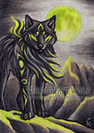 Fell Wolf - ACEO Commission