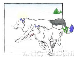 Snow And Spirit by WildSpiritWolf