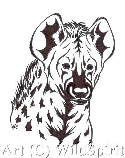 hyena design commission by wildspiritwolf on deviantart. Black Bedroom Furniture Sets. Home Design Ideas