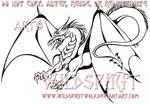 Hunting Dragon Tattoo Commish