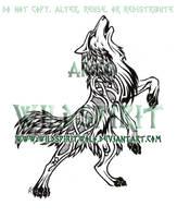 Norse Wolf Tattoo by WildSpiritWolf