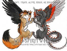 KaHaTeNi And Kazdra by WildSpiritWolf