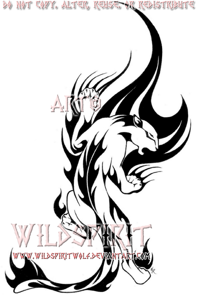 Tribal panther tattoo meaning - photo#24