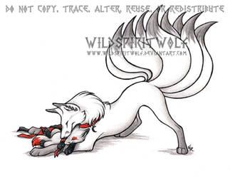 Baby Mine Fox And Cub Commish by WildSpiritWolf