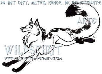 Fly With Me Tattoo Commish by WildSpiritWolf