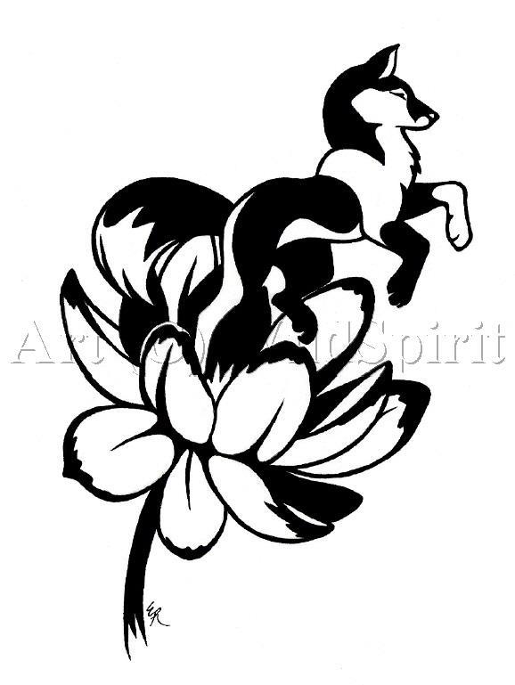 lotus born tattoo commish by wildspiritwolf on deviantart. Black Bedroom Furniture Sets. Home Design Ideas