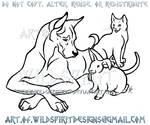 ShadowKira's Pet Logo Commish