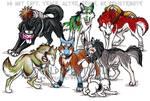 Naruto Wolf Group Commish