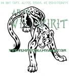 Tribal Leopard Tattoo Commish