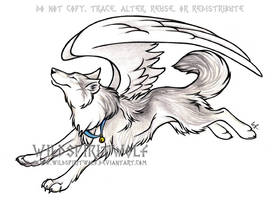 Kimaria's Tainn Wolf Commish by WildSpiritWolf