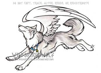 Kimaria's Tainn Wolf Commish by WildSpiritWolf