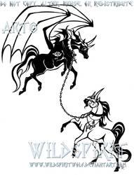 GM's Gypsy Blair Horse Tattoo by WildSpiritWolf