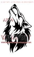 Ambereye Wolf Tribal Design Commission