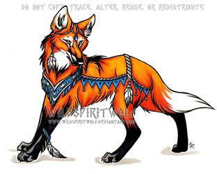 Maned Wolf Copic Play by WildSpiritWolf