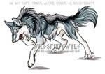 Kolmastoista Lohikaarme Wolf