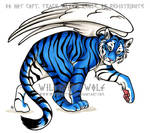 Commission Blue Tiger Copic