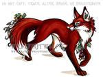 Flower Fox Copic