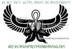 Anubis Bastet Egyptian Design