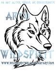 Wolf Head Tribal Design Commission